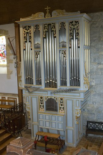 Orgue d'Irissarry, Église Saint-Jean Baptiste