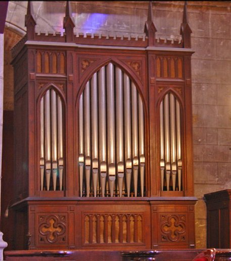 Orgue d'Albi, Collégiale Saint-Salvy