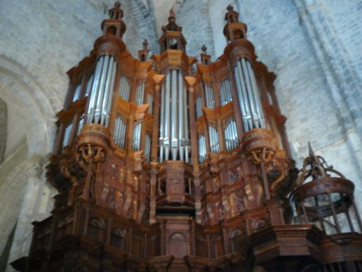 Orgue de Saint-Bertrand-de-Comminges, Cathédrale Notre-Dame ou Sainte-Marie